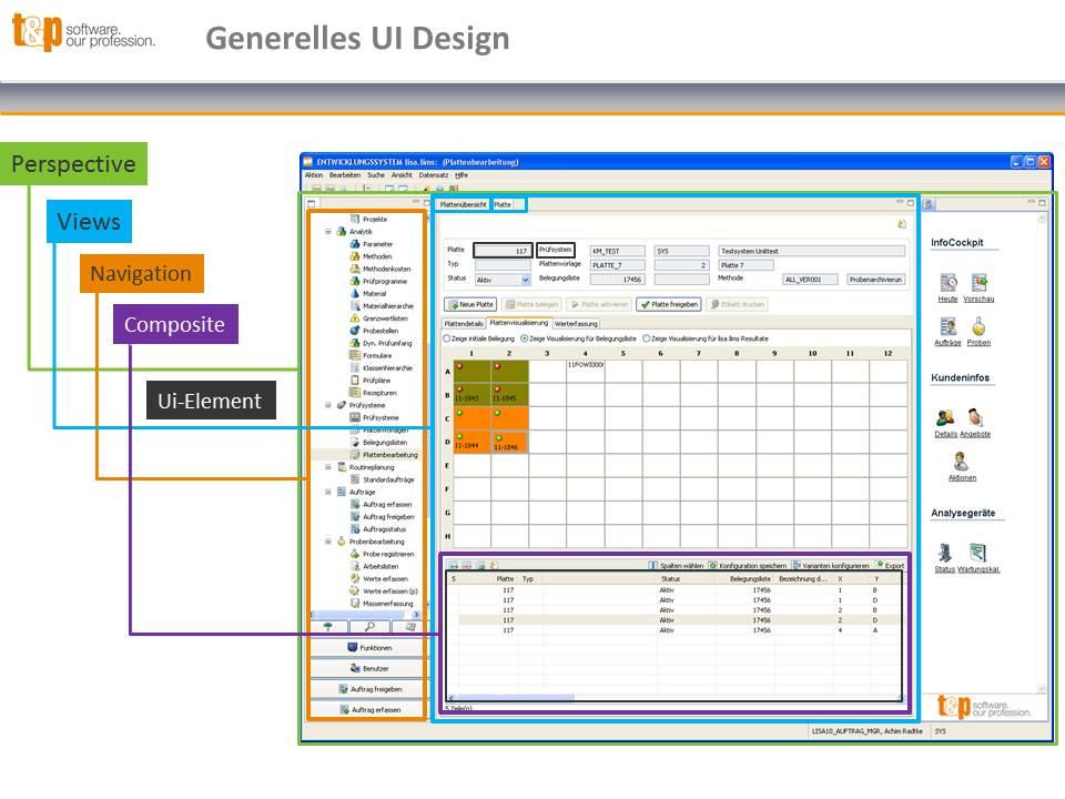 Generelles UI Design