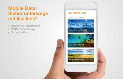 Mobile Data: Sicher unterwegs mit lisa.lims