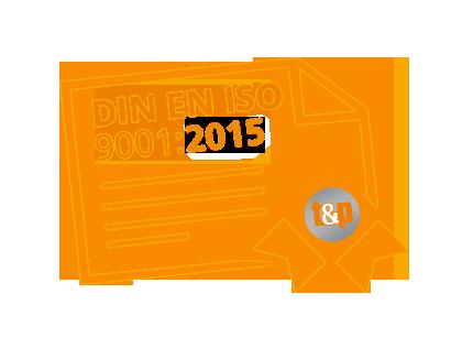 Zertifiziertes Qualitätsmanagement von t&p