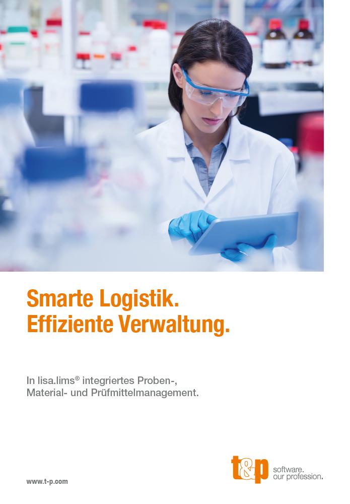 Smarte Logistik. Effiziente Verwaltung.