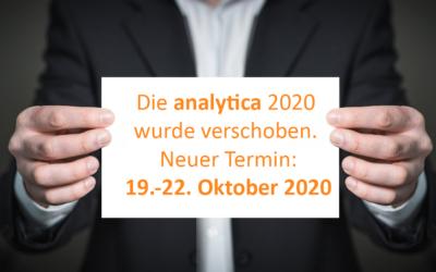 analytica 2020 findet im Oktober statt