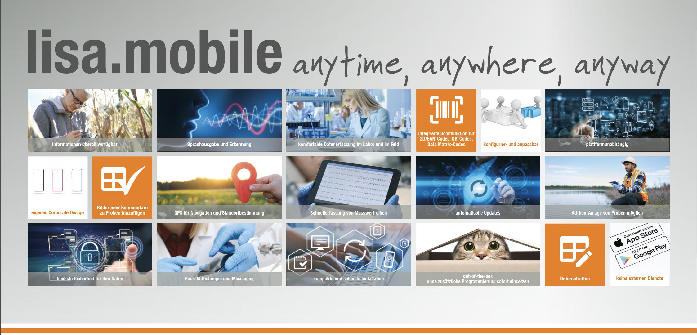 lisa.mobile - anytime, anywhere, anyway